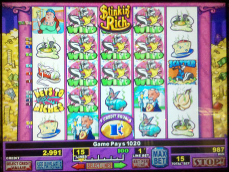 free slots stinking rich