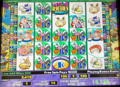 Slot machine stinkin rich