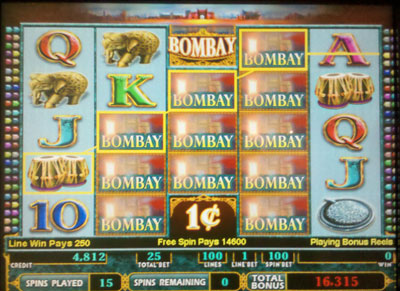 Casino machine odds slot tinseltown casino